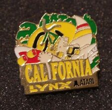 RARE PINS PIN'S / CALIFORNIA LYNX ATARI / Console de jeux vidéo