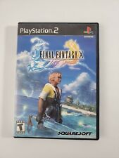 Final Fantasy X 10 Greatest Hits (Sony PlayStation 2, 2001) PS2 with Manual