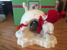 Dept 56 - Snowbabies - The Stocking was Hung By The Igloo With Care