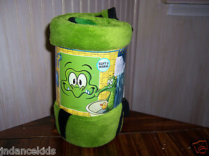 "Disney Where's My Water Big Face Swampy Micro Raschel Throw 46"" x 60"" Blanket"
