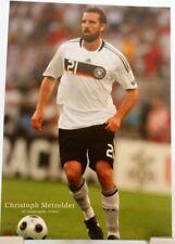 Christoph Metzelder + Fußball Nationalspieler DFB + Fan Big Card Edition B70 +