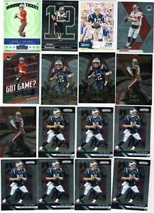 Tom Brady Mixed Insert, Base, SP Lot of (55) Cards