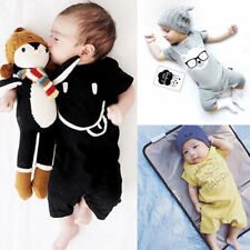 Newborn Baby Girls Boys Romper Jumpsuit Clothes Toddler Casual Romper Playsuit