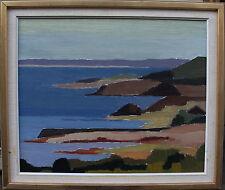 Küstenlandschaft, unbekannter Maler, um 1950/60
