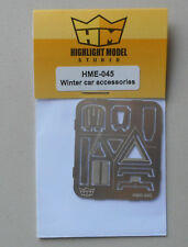 1/24-1/25  Winter Car Accessories scraper shovel etc HIGHLIGHT MODEL CAR Part 44