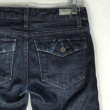 Paige Fairfax Boot Cut Low Rise Flap Pocket Jeans Women's 26