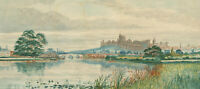Mid 20th Century Watercolour - Windsor Castle