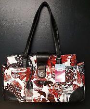 Gigi Hill Ingrid City Red Large Tote Bag, Purse, Handbag or Briefcase NEW