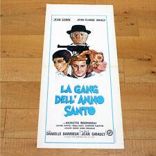 GANG DELL'ANNO SANTO locandina poster affiche Gabin Brialy L'année sainte AC75