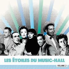 CD Les Etoiles du Music-Hall - Vol2 - Montand, Piaf, Trénet, Gréco, Mouloudji...