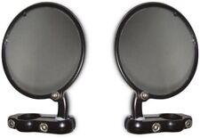 "CRG Hindsight Mirrors 3"" Diam  for 7/8"" Bars -Black - Pair - Right & Left"