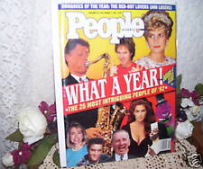 PEOPLE MAGAZINE 1993 Bill Clinton Diana Elvis Whoopi