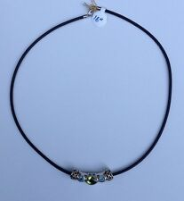 Vanessa Michaels Sterling Silver & 14kt Yellow Gold Necklace