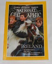 NATIONAL GEOGRAPHIC MAGAZINE SEPTEMBER 1994 - IRELAND/SONORAN DESERT/JAPAN