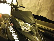 ski-doo rev-xm rev-xs renegade mxz summit low windshield flat black