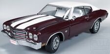 1970 Chevelle  BLACK CHERRY 1:18 Auto World 1011