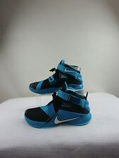 NWB Nike Lebron Soldier IX 'Cool Grey' Mens Shoes Size 12