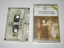 THIS MORTAL COIL - It'll End In Tears - MC cassette tape 1991/200