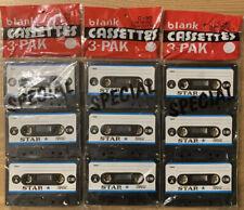 Star C-90 Blank Cassette Tape - New Old Stock
