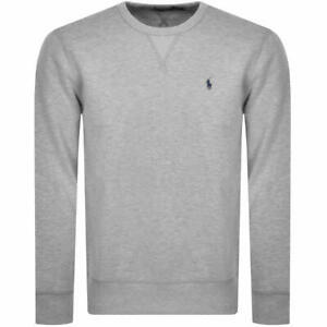 NEW Polo Ralph Lauren embroidered logo jumper - Grey - RRP £135