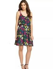 New DEFINITIONS floral dress 16 Littlewoods strappy holiday LOOK XL14 summer