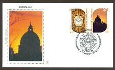 Vatican City Sc# 1501-2, Europa 2012: Visit…, First Day Cover
