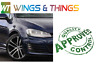 VW GOLF MK7 2013 on New Front Drivers Wing Fender  Painted Night Blue Metallic