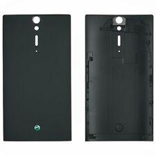 Original Sony Xperia S LT26i battery cover, black