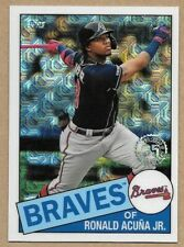 2020 Topps Series One Ronald Acuna Jr. Silver Pack Atlanta Braves