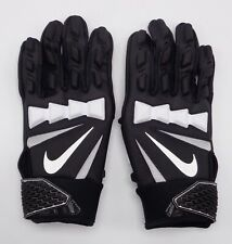 Nike Youth HYPERBEAST Lineman Gloves Football Black/White youth Small