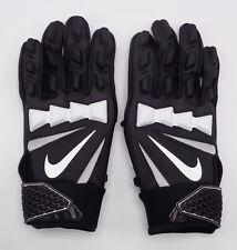 Nike Youth Hyperbeast Lineman Gloves Football Black/White Youth Small