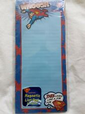Superman Notepad List Pad This Looks Like a Job for Superman NEW