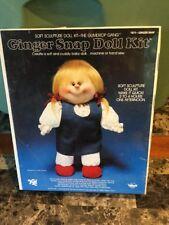 Vintage 1982 Ginger Snap Doll Kit The Gumdrop Gang #871 Ginger Snap