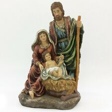Natività sacra famiglia per presepe statua di natale decorazioni addobbi idea re