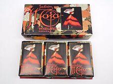3 Myrurgia Jabon Maja Savon Soap Bars in Original Gift Box/set Barcelona Espana