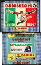 Bustina Figurine Calciatori Panini 1986-87! Nuova! Sigillata!