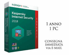 Kaspersky Internet security 2018, 1 PC, 1 Anno Antivirus ESD