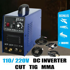 CT312 Dual Volatage 110/120V DC Welder Plasma Cutter CUT/TIG/MMA 3in1 Machine