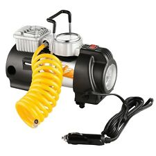 RAD Sportz 12 Volt Electric Co-Pilot Air Compressor w/ Gauge for Bike or Auto