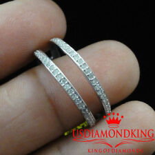 Ladies Enhancer Diamond Ring Guard Jacket Wrap 14k White Gold Wedding Band New