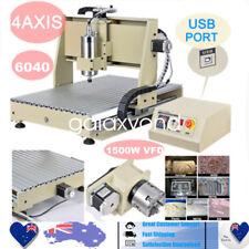 1500W 6040 CNC Router Engraver Engraving Machine Desktop Carving 3D Cutter 4AIXS