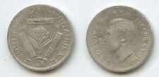 G3154 - Südafrika 3 Pence 1943 KM#26 Silber George VI. South Africa Suid-Afrika
