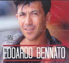 3 CD Audio Box EDOARDO BENNATO - I SUCCESSI - THE BEST - IL MEGLIO nuovo