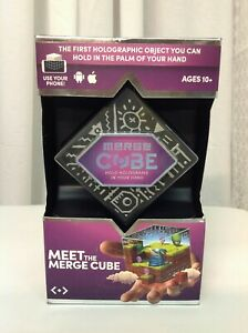 Merge Cube Holograms In The Palm Of Your Hand VR/AR Mixed Reality -New