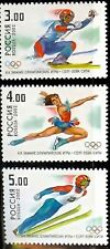 Russia #6679-81 Salt Lake 2002 Olympic Set of 3 MNH
