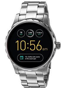 Fossil | Herrenuhr | Smartwatch Marshal 2. Generation silber FTW2109