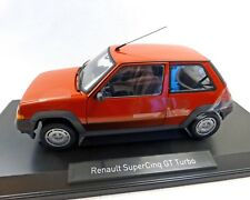 Renault r5 gt turbo, 1:18 - NOREV