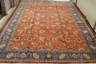 GENUINE TABRIZZ HAND KNOTTED WOOL LARGE ORIENTAL RUG EXQUISITE  11.5 x 18.5