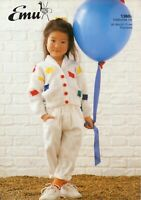 Emu 1360 c Toddlers D K & Baby D.K. Cardigan 1 to 5 yrs 20 to 28 inch chest
