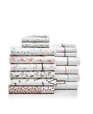 Pair of Martha Stewart Whim Novelty Print Cotton Standard Pillowcases Multi $50